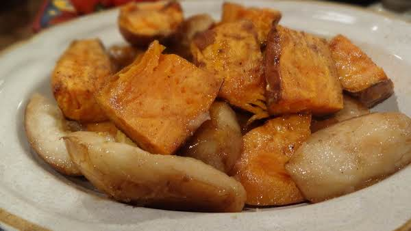 Roasted Sweet Potatoes And Pears -- Bonnie's Recipe