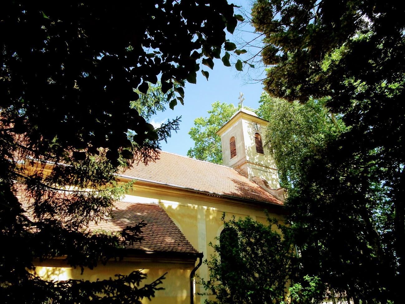 Kaposvár - Toponári Szentháromság rk. templom
