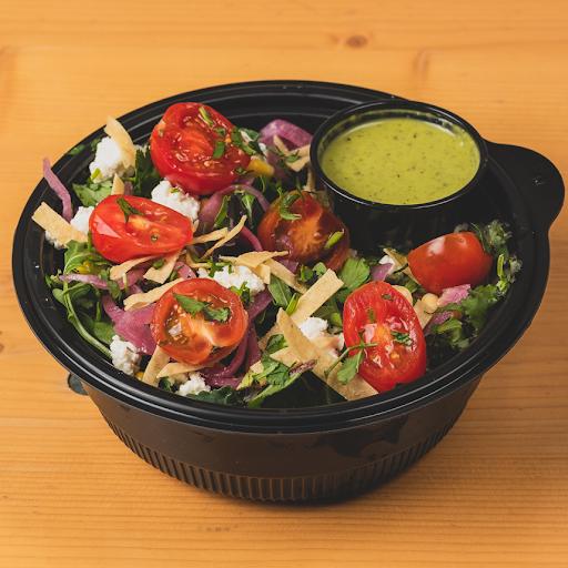 Greens & Crispy Tortilla Salad