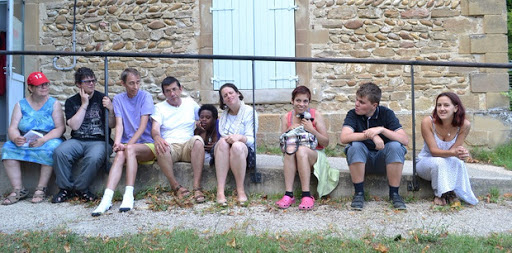 Les colocataires au foyer Moïta