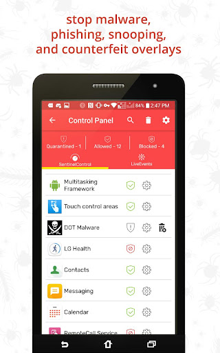 Redmorph Ultimate Privacy & Security Solution screenshot 5