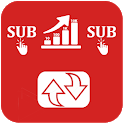 Sub4Sub - Subscriber boost & Viral Video Promoter icon
