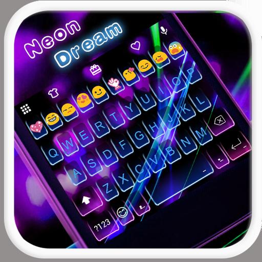 Neon Dream Emoji Keyboard