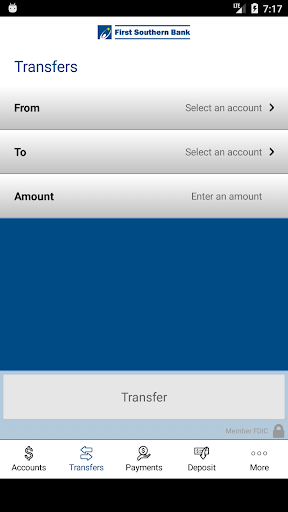 First Southern Bank IL Mobile app (apk) free download for Android/PC/Windows screenshot