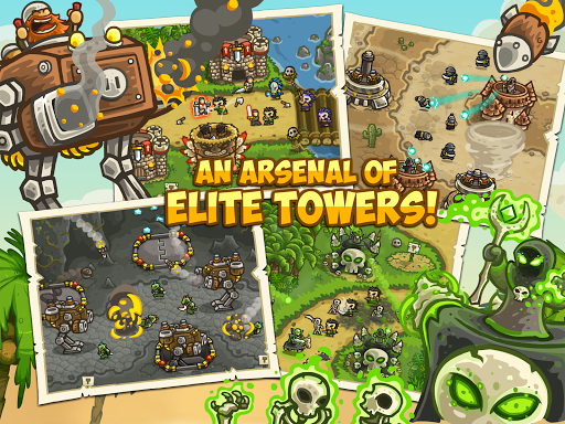 Kingdom Rush Frontiers - screenshot