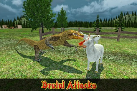Wild Komodo Dragon War screenshot
