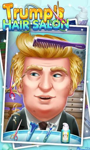トランプのヘアサロン - 大統領シェイプ