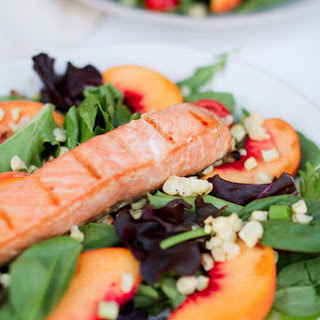 Grilled Salmon Summer Salad