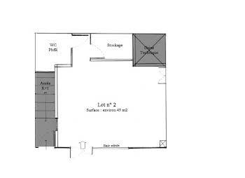 Divers 3 pièces 45 m2
