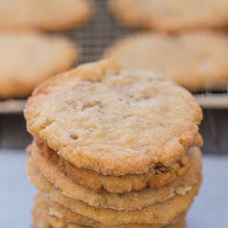 Crunchy Pecan Cookies.