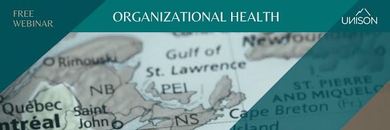 Free Webinar - Organizational Health
