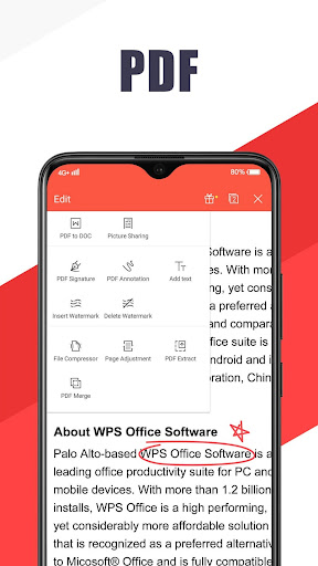 WPS Office - Free Office Suite for Word,PDF,Excel screenshot 4
