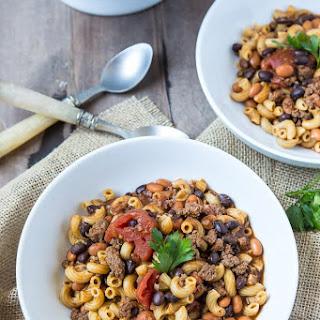 No Bean Chili Mac Recipes