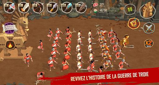 Trojan War: L'ascension de  légende de Sparte  captures d'écran 1