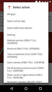 Now Gesture Tweaks Free Screenshot 2