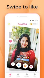 Sweet Chat -Free Chat Online,Chatting app,Meet me Apk Download 1