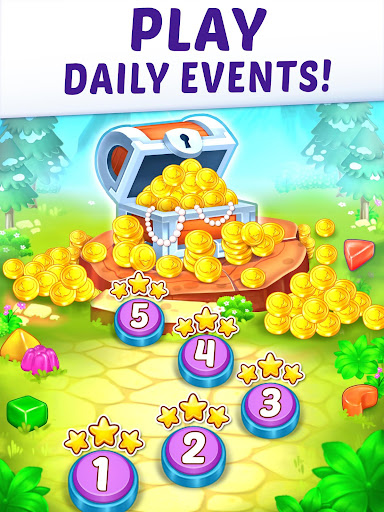 Gummy Paradise - Free Match 3 Puzzle Game  screenshots 11