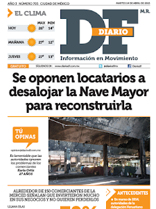Diario DF screenshot 14