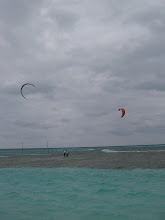Photo: Windsurfers on Caye Caulker