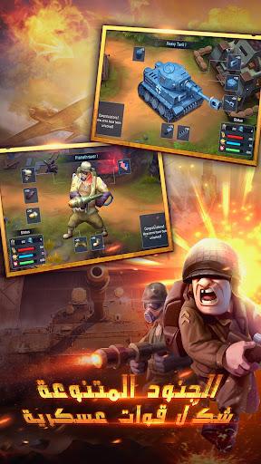 War in Pocket: u062cu0646u0631u0627u0644 apkpoly screenshots 4