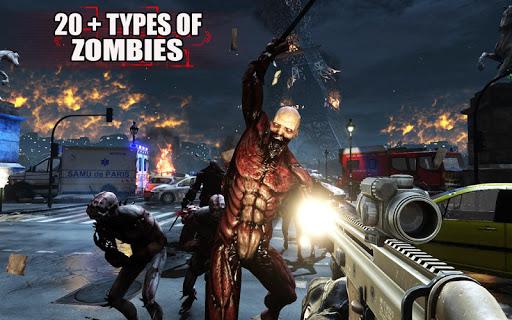 Zombies Frontier Dead Killer: TPS Zombie Shoot apktreat screenshots 2