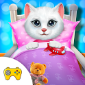 Cute Kitty's Bedtime Activities : Kitty Daycare icon