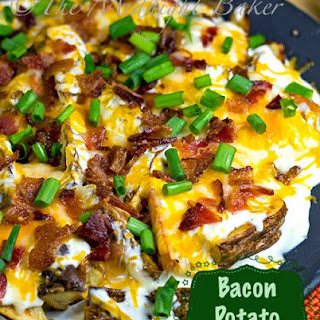 Bacon Cheese Potato Wedges and REVOL GIVEAWAY!!