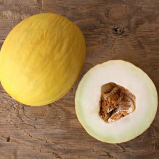 5-Minute Melon Rosemary Sorbet