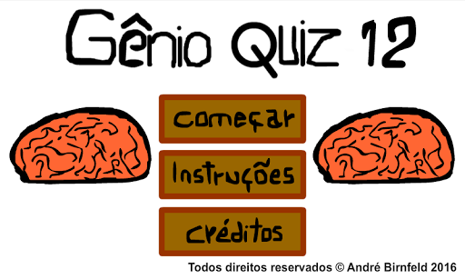 玩免費益智APP|下載Gênio Quiz 12 app不用錢|硬是要APP