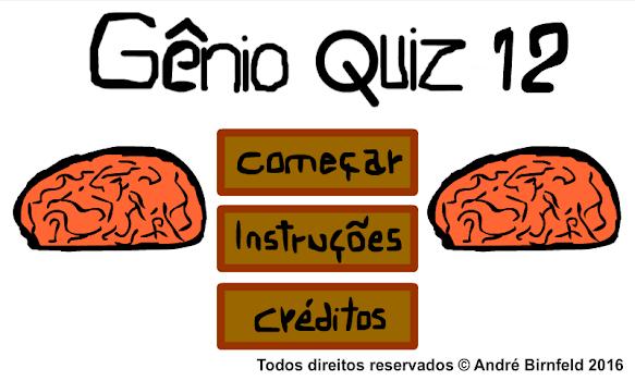 Genius Quiz 12