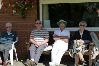 Photo: Ken Ashby, Dave Biddlecombe, Paul Crabtree and June Biddlecombe.