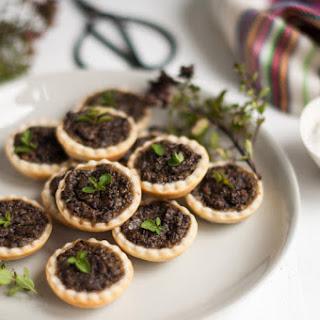 Mushroom Tart Appetizers Recipes