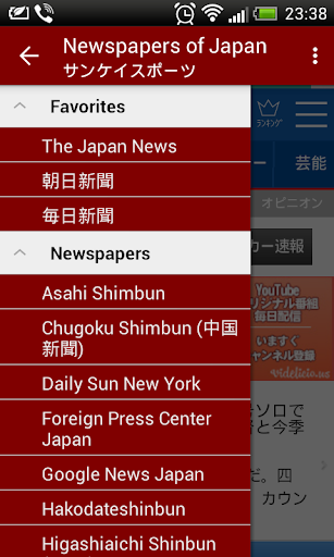 Newspapers of Japan