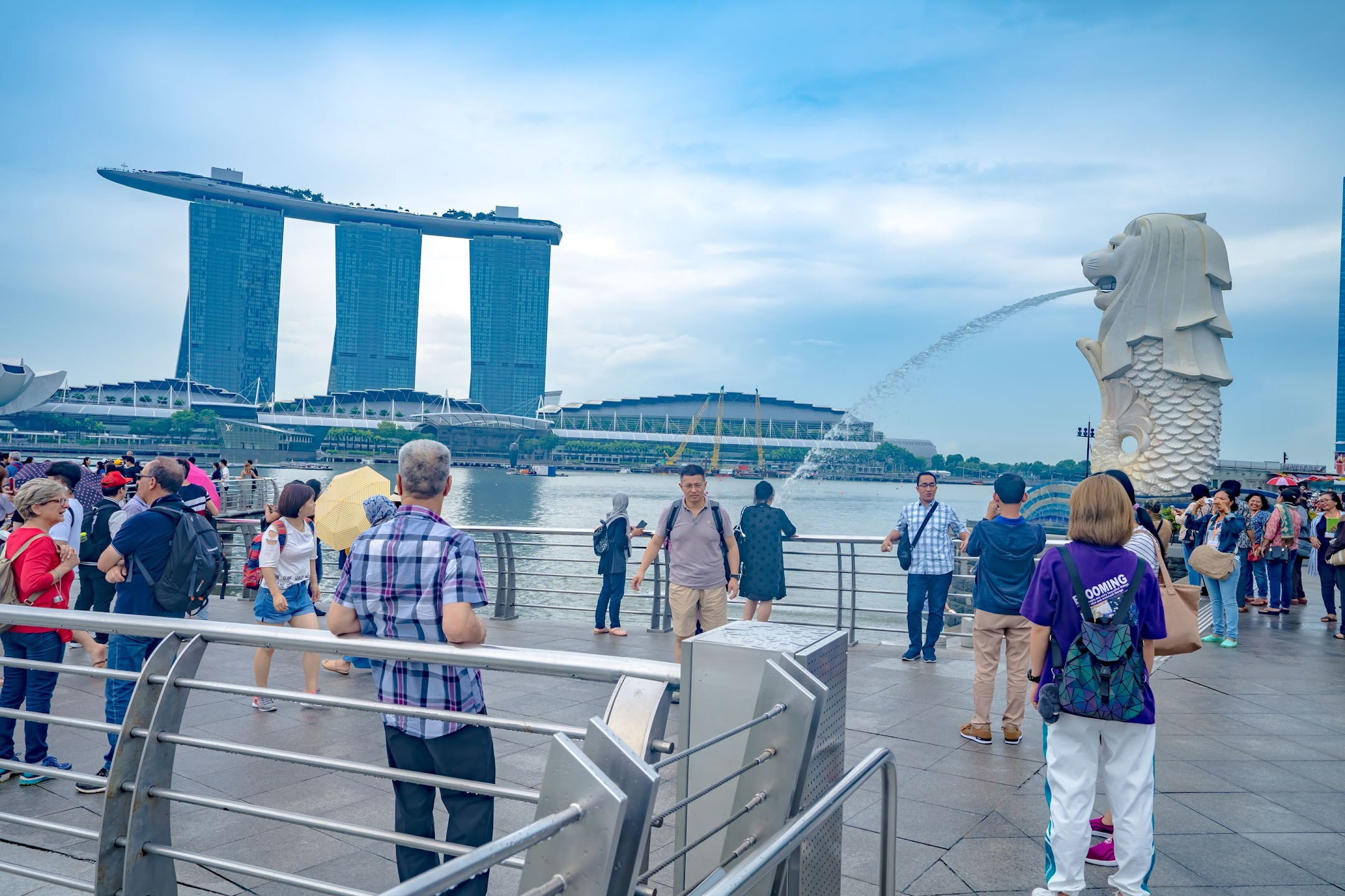 Singapore Merlion Marina Bay Sands2