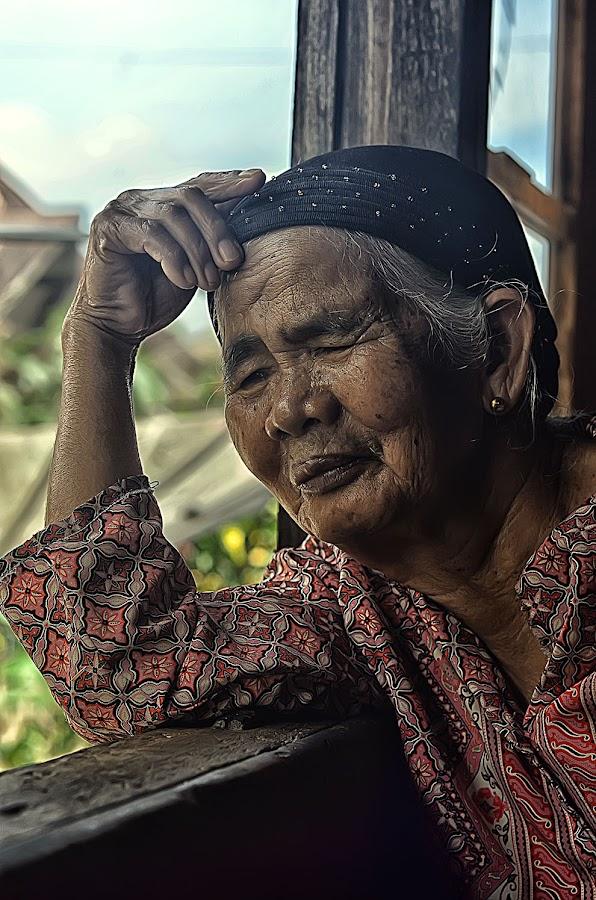 Grandma by Gustian Doni - People Portraits of Women