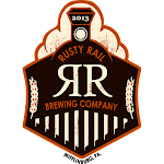 Logo for Rusty Rail Brewing Company