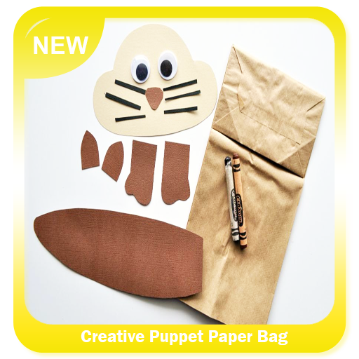 Creative Puppet Paper Bag