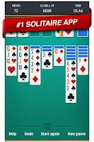 Screenshot of Solitaire - Patience Card Game