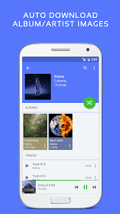 Pulsar Music Player Pro - náhled