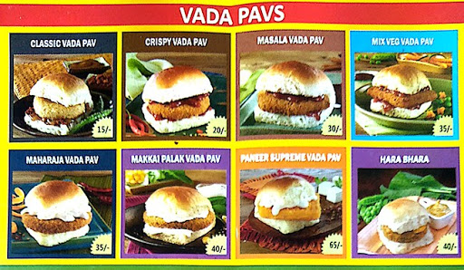 Goli Vada Pav menu 2