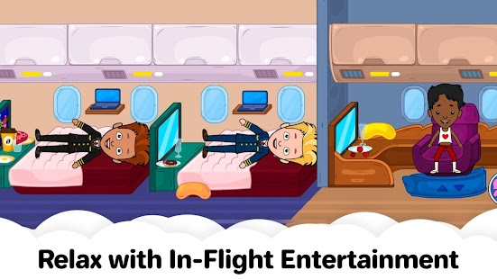 My Airport Town: Kids City Airplane Games for Free Screenshot