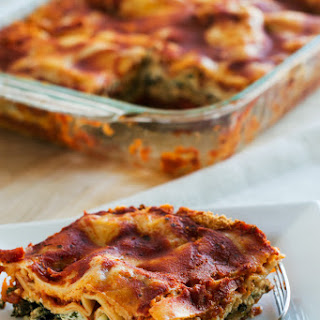 Low Calorie Vegetarian Lasagna Recipes