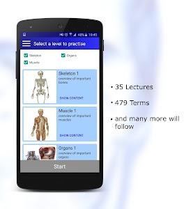 Anatomy Quiz Pro screenshot 4