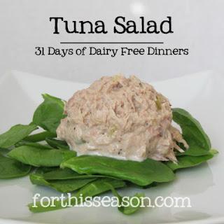 Tuna Salad (Dairy Free Recipe)