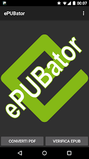 ePUBator- screenshot thumbnail