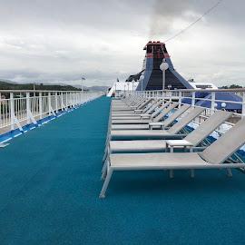 Deck in Cruise by Karthikeyan Chinnathamby - Uncategorized All Uncategorized ( chinna, deck, cruise, travel, chinnathamby )