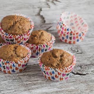 Flax Applesauce Muffins.