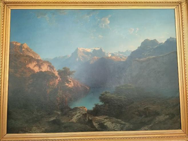 バーゼル市立美術館内の絵