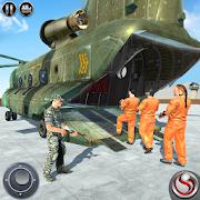 OffRoad US Army Helicopter Prisoner Transport Game