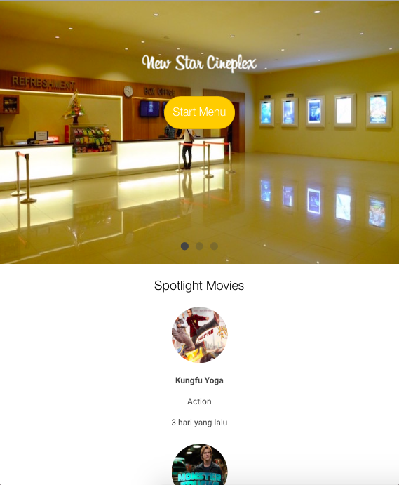 New Star Cineplex- screenshot